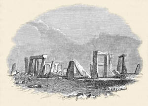A dodgy Victorian view of Stonehenge
